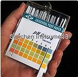 Hanchen Instrument 20packs(100strips/pack) PH0-14 4 Color Alkaline pH Test Paper pH Test Strips Indicator Litmus Kit