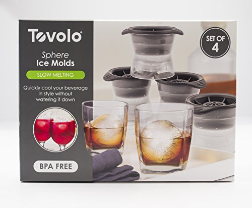 Tovolo Sphere Ice Molds - Set of 4]()