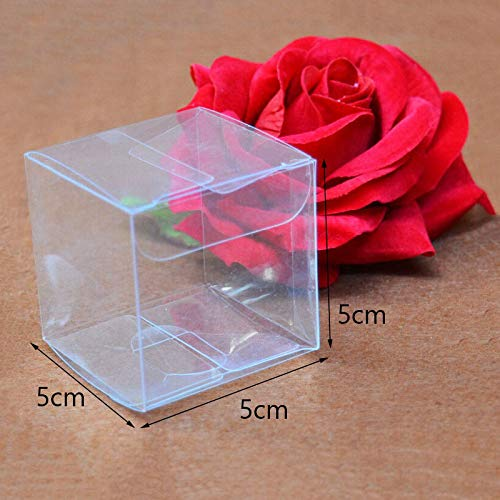 62d0f3bb139f XLPD Square Plastic Clear Packaging Boxes 15 Sizes Small/Large Transparent  Gift Box Packaging PVC Display Box for Candy/Crafts/Toys Clear 12x12x12cm -  ...