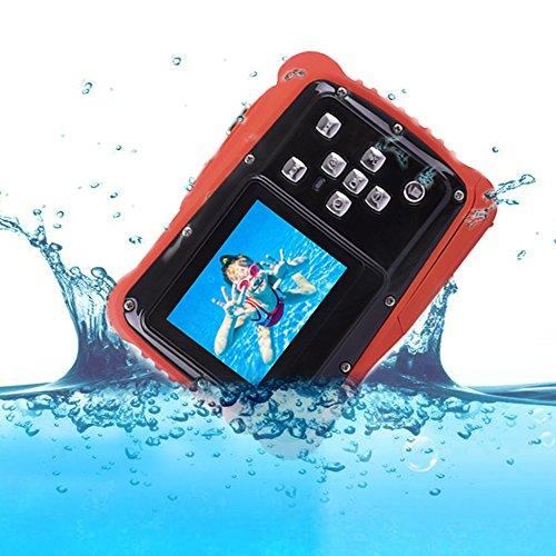Waterproof Digital Camera for Kids,Underwater Camcorder,Action Durable Came 2.0 Inch TFT Display Children (Black)