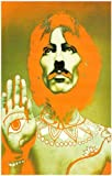 George Harrison - Psychedelic - Avedon - Beatles 11x17 Poster