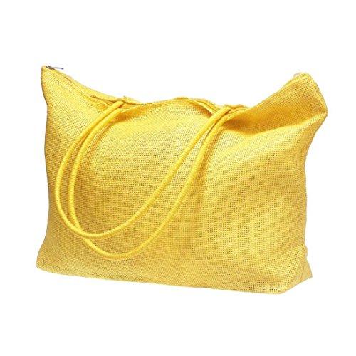 paille Casual Simple de de bonbons couleur grands Femmes Plage sacs Tonsee gpwFxq18n