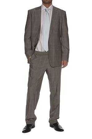 94a625ec3 Amazon.com: Hugo Boss Black Suit PASOLINI MOVIE, Color: Grey, Size ...