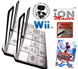 4 x Wii Dance Dance Revolution iON Master Arcade Metal Dance Pad with Raised Buttons and Strong Hand