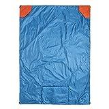 Klymit Versa Packable Camping Blanket & Comforter, Blue/Red