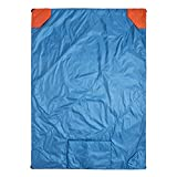 Klymit Versa Packable Camping Blanket & Comforter, Blue/Red