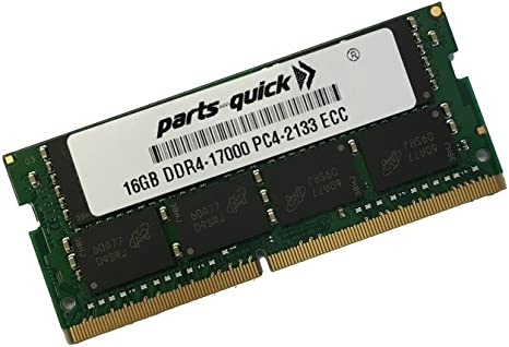 Kit Memory for Synology DiskStation DS3617xs DDR4 2133MHz ECC SODIMM PARTS-QUICK Brand 2X16GB 32GB