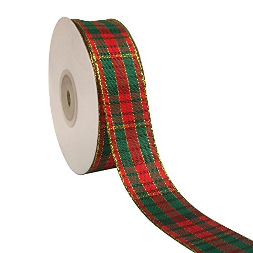 (ornerx Plaid Christmas Ribbon 1