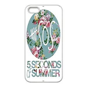 Rock band poster 5SOS Hard Plastic phone Case Cover For Apple Iphone 5 5S Cases XFZ406088