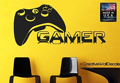Wall Decal Vinyl Sticker Decals Art Decor Design Gamer Players Gaming Time xbox