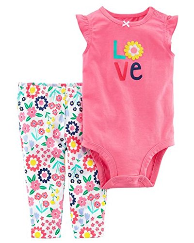 Girls' Clothing (newborn-5t) Carter's Baby Girl 2 Pieces Swimsuit Size 9 Months K95 Easy To Use Clothing, Shoes & Accessories