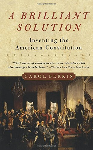 a brilliant solution inventing the american constitution thesis Reflections on a brilliant solution: inventing the american constitution aoc vs the us consititution intro chapter summaries the unites states constitution.