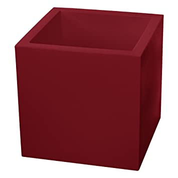 Amazon Com Almi Cube Planter Box 12 Inch Plastic Square Planter