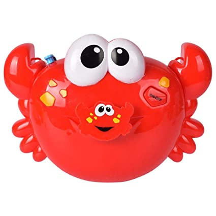 Nice Outdoor Bubble Machine Bath Toy Baby Bubbles Crabs Maker Swimming Bathtub Soap Water Toys For Children With Music Last Style Outdoor Fun & Sports