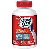 Schiff Move Free 氨糖软骨素 维骨力 添加MSM维生素D3 蓝盒加强版 120粒