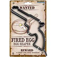 Barbuzzo Gun Shaped Egg Shaper and Fryer