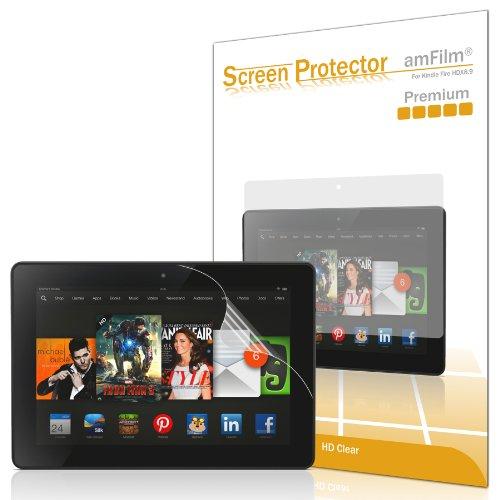 Kindle Fire HDX 8.9 Screen Protector, amFilm® Premium HD Cl