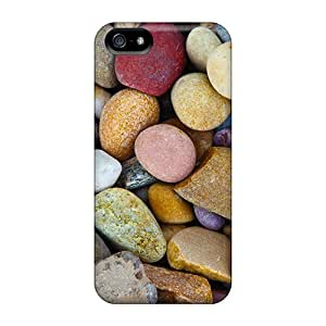 New HZz6459wtdN Abstract Purple Sphere Skin Cases Covers Shatterproof Cases For Iphone 5c
