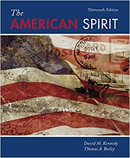 Book The American Spirit: United States History as Seen by Contemporaries