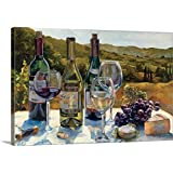 "Marilyn Hageman Premium Thick-Wrap Canvas Wall Art Print entitled A Wine Tasting 24""x16"""