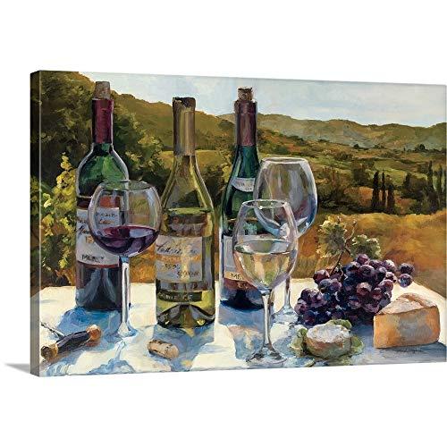 A Wine Tasting Canvas Wall Art Print, 18