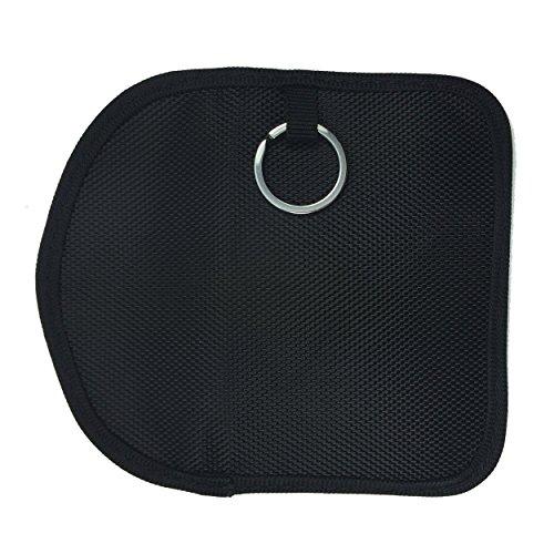 Naviurway Key Fob Signal Blocking Bag Auto RFID Blocking Holder Anti-hacking Security Bag for Car Smart Keyless Entry Remote Fob Controller Black by Naviurway (Image #4)