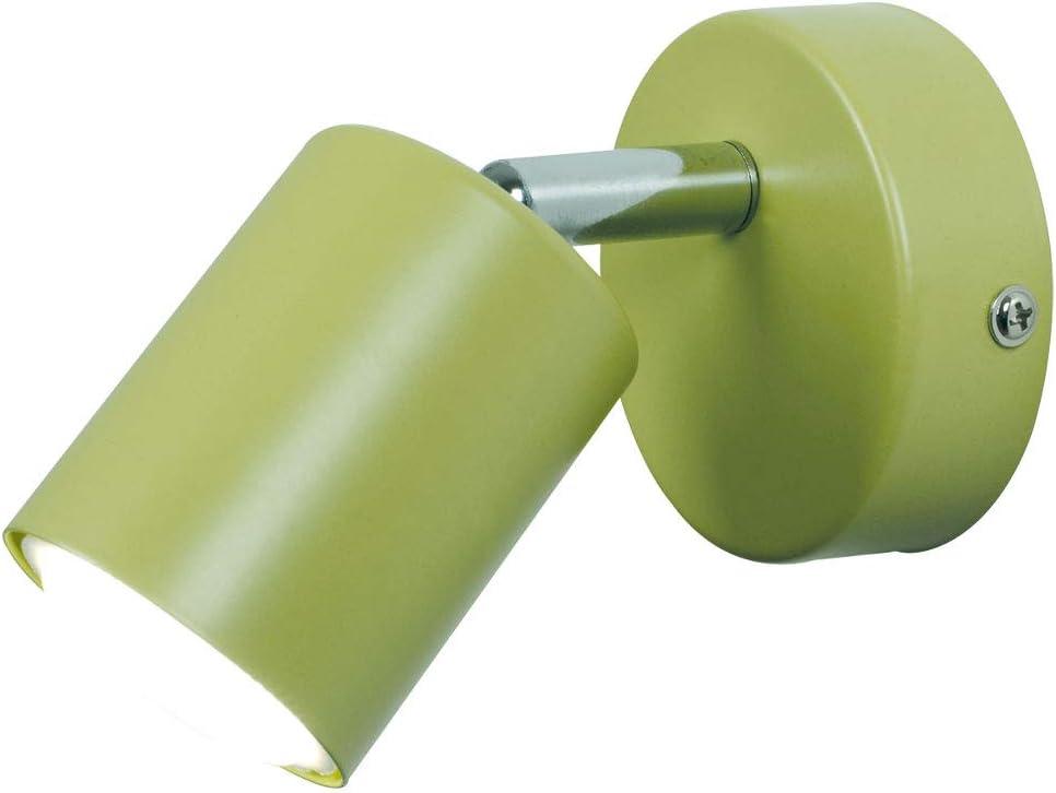 72091023-LED, 3w LED SMD GU10, green Nordlux Explore LED adjustable spot wall light fitting