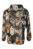 Fierce Fleece Feline Edition Unisex Lightweight Fleece Jacket Small