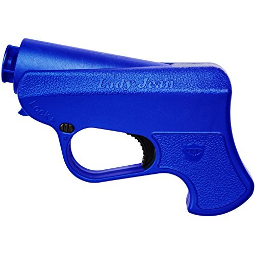 CAA Command Arms Lady Jean Pepper Spray Gun w/ Training & Defense Canister Blue (Caa Command Arms)