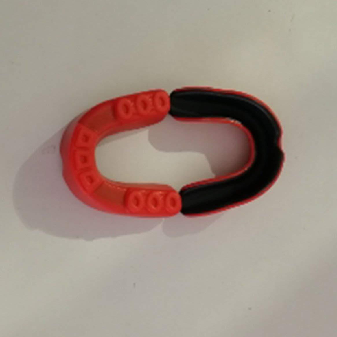 Delicacydex Paradenti per Bambini Protegge per Gli Sport da Boxe - Orange Black