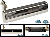 Apdty 88124 Exterior Door Handle Fits Front Or Rear Right (Passenger) Chrome 1976-1990 Gm Various Models (view Compatibility Cahrt To Verify Fitment)W/O Illuminated Entry #20038998, 20099246, 20111712