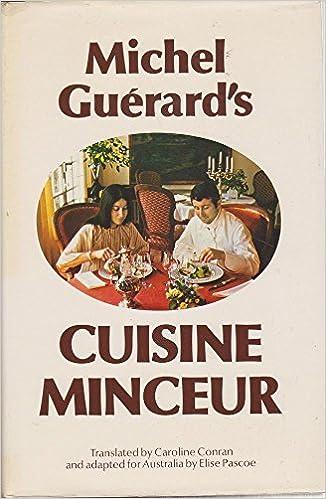 """Résultat de recherche d'images pour """"livre de cuisine Michel Guérard"""""""