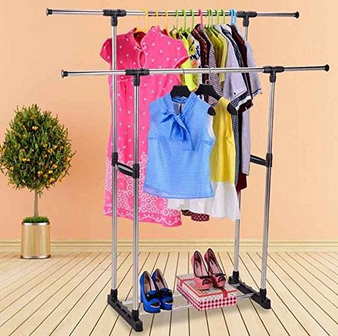 Livebest Clothes Racks for Hanging Clothes Drying Clothes In