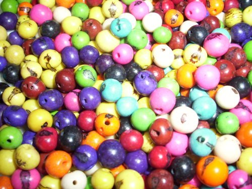 Acai Beads Mixed Colors Pack of 100