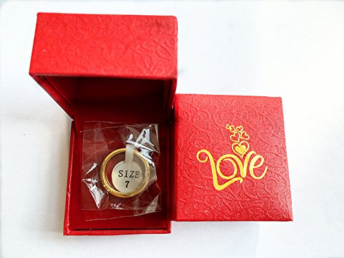 Fire Ants Love Ring-Gold Lifetime Just Love You With(Size:5-10) (10) by Fire Ants (Image #4)