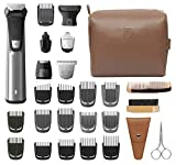 Philips Norelco Multi Groomer MG7791/40 29 Piece Mens Grooming Kit, Trimmer for Beard