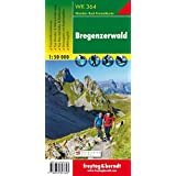 WK 364, Bregenzerwald, Wanderkarte 1:50 000, freytag & berndt Wander-Rad-Freizeitkarte