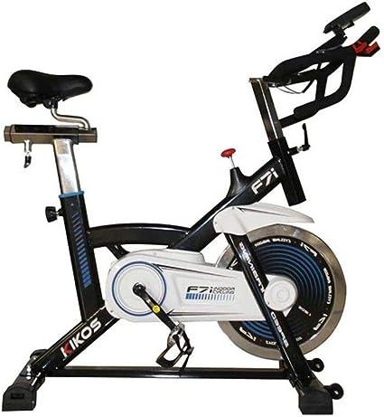 Bike Spinning Kikos F7i Visor Digital - Preta
