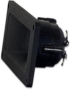 Goldwood Sound 75 Watts 8ohm Piezo Horn Speaker Tweeter Black (GT-1016)