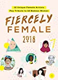img - for 2018 Fiercely Female wall poster: 12 Unique Female Artists Pay Tribute to 12 Badass Women book / textbook / text book