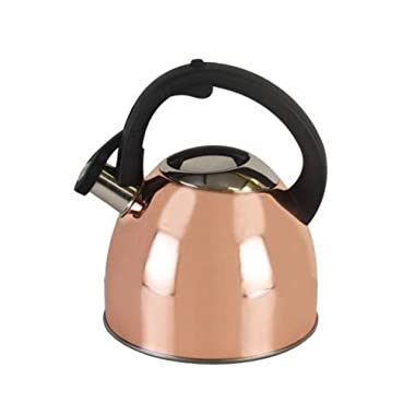 Copco 5226114 Copper Plated Stainless Steel Tea Kettle, 2.5-Quart