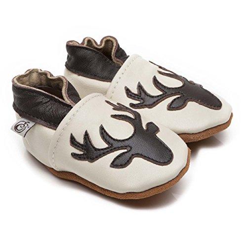 Weiche Leder Baby Schuhe Hirsch 6-12 monate