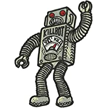 """Robot Monster Iron on Patch - (4"""")"""