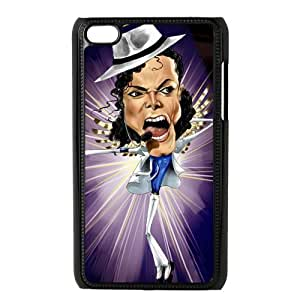 Custom Michael Jackson Back Cover Case for ipod Touch 4JNIPOD4-051