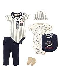 Little Treasure Unisex-Baby Baby 6 Piece Clothing Set