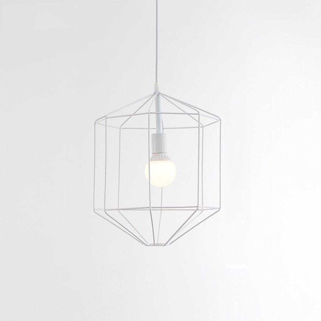 ZYANZ- Chandelier Retro Chandelier (E27 Lighting Interface) Bedroom Living Room Creative Personality Cafe Bar Single Head Chandeliers ( Color : Black )