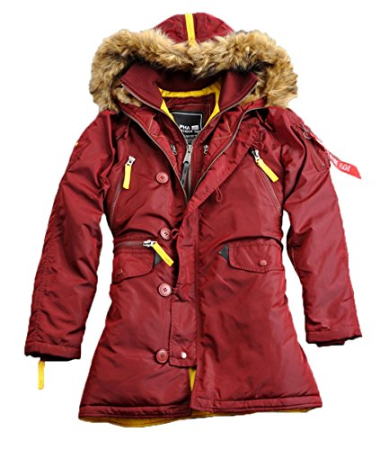Wmn Alpha Pps Industries Burgundy N3b Jacket nxaxwrv