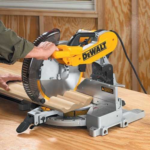 028877505749 - DEWALT DW716 15 Amp 12-Inch Double-Bevel Compound Miter Saw carousel main 8