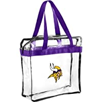 2013 Messenger Bag NFL Football Clear See Thru - Pick Team (Minnesota Vikings)