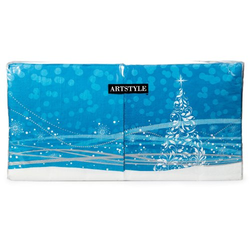 ArtStyle Holiday Glimmer Napkins 200ct product image